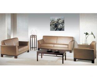 SF-W019实木办公沙发